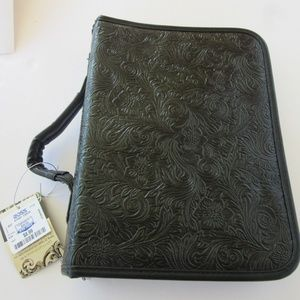 Black Bible and Book Cover (NWT)